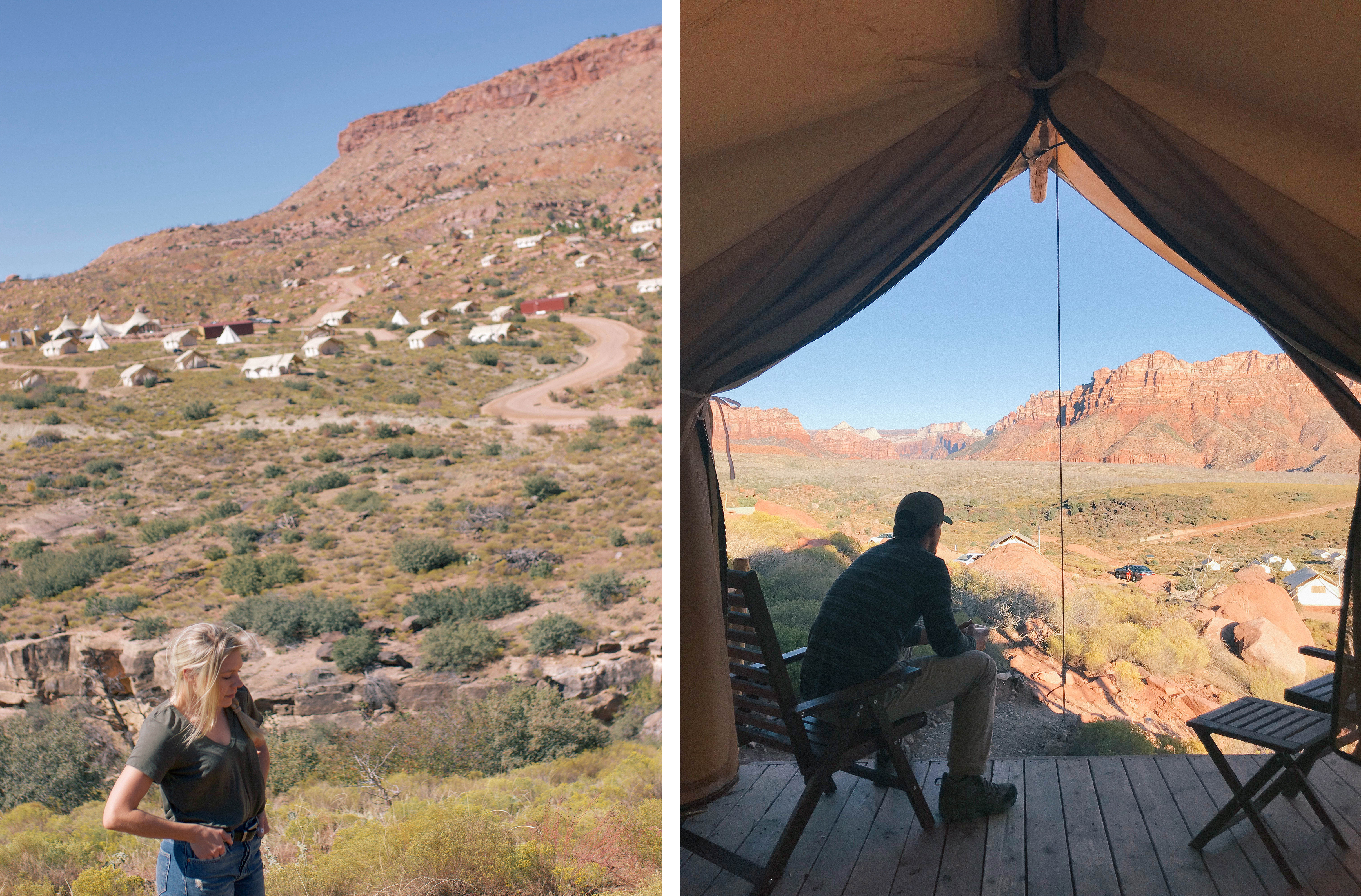 Under Canvas, Zion | Style Souffle