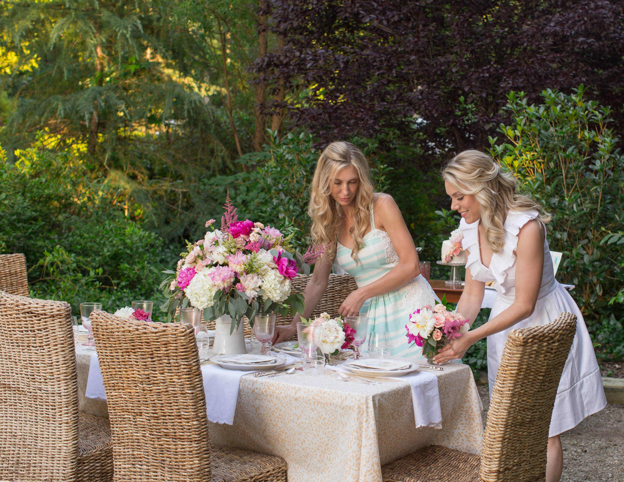 Summer Tablescape with Juliska, India Amory & Mia Malcolm Studio